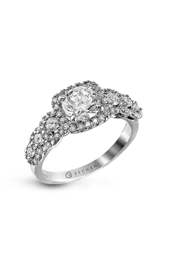 Zeghani Delicate Diva Engagement ring ZR494 product image