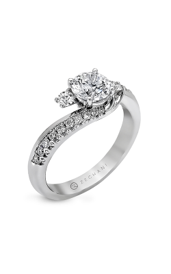 Zeghani Refined Rebel Engagement Ring ZR550 product image