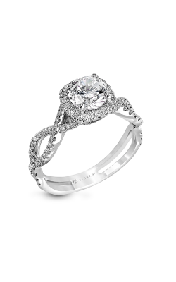Zeghani Delicate Diva Engagement ring ZR629 product image