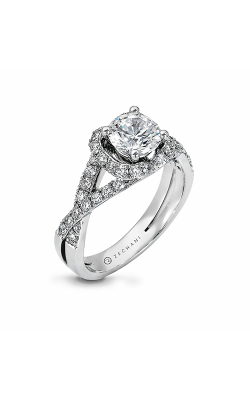 Zeghani Delicate Diva Engagement ring ZR708 product image