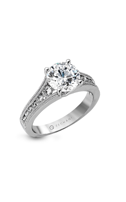 Zeghani Vintage Vixen Engagement ring ZR1033 product image
