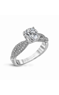 Zeghani Delicate Diva Engagement ring ZR1035 product image
