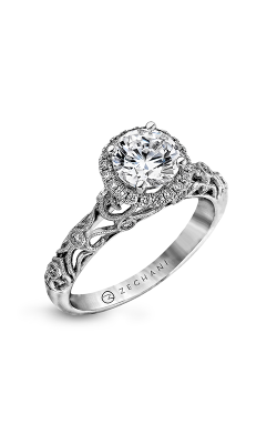 Zeghani Nature Lover Engagement Ring ZR924 product image
