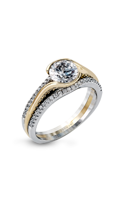 Zeghani Refined Rebel Engagement ring ZR1048 product image
