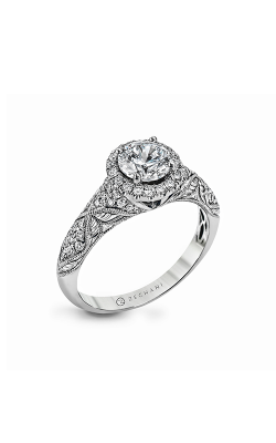 Zeghani Vintage Vixen Engagement ring ZR1053 product image