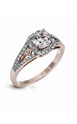Zeghani Blindingly Beautiful Engagement ring ZR1137 product image