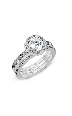 Zeghani Blindingly Beautiful Engagement ring ZR357 product image