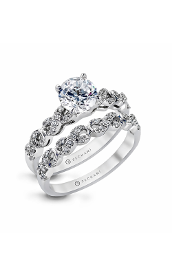 Zeghani Blindingly Beautiful Engagement Ring ZR868 product image