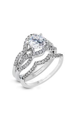 Zeghani Blindingly Beautiful Engagement Ring ZR487 product image