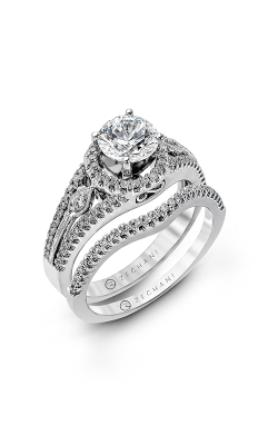 Zeghani Classic Beauty  Engagement Ring ZR151 product image