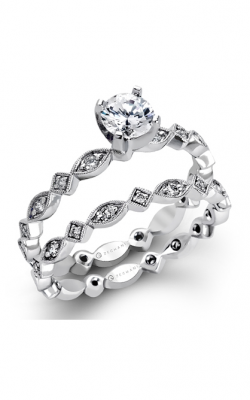Zeghani Blindingly Beautiful Engagement ring ZR228 product image