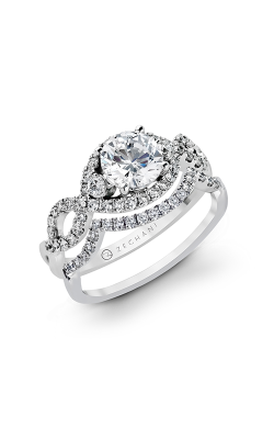 Zeghani Blindingly Beautiful Engagement Ring ZR422 product image