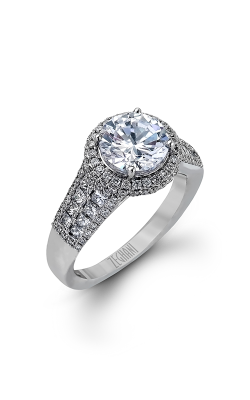 Zeghani Blindingly Beautiful Engagement Ring ZR973 product image