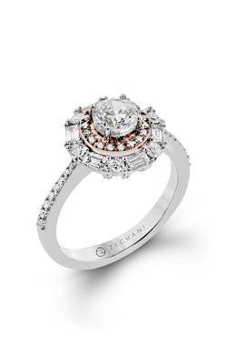 Zeghani Blindingly Beautiful Engagement Ring ZR1376 product image