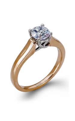 Zeghani Classic Beauty  Engagement Ring ZR412 product image