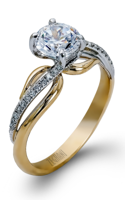 Zeghani Nature Lover Engagement Ring ZR522 product image