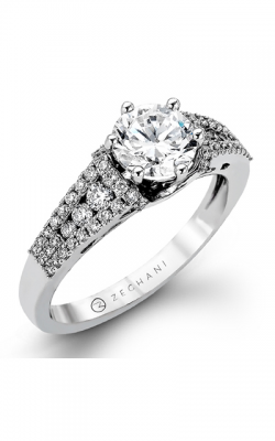 Zeghani Vintage Vixen Engagement Ring ZR990 product image
