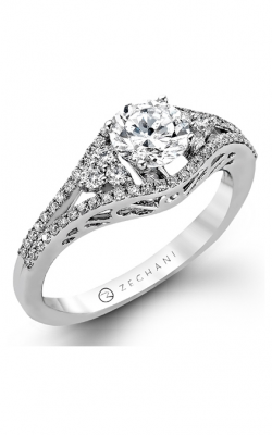 Zeghani Blindingly Beautiful Engagement Ring ZR987 product image