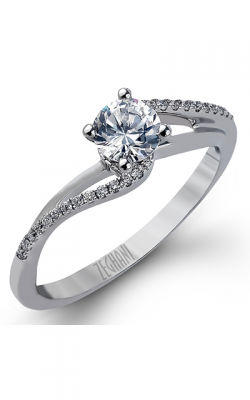 Zeghani Delicate Diva Engagement ring ZR982 product image
