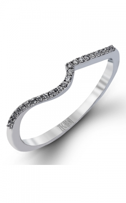 Zeghani Delicate Diva Wedding band ZR982 product image