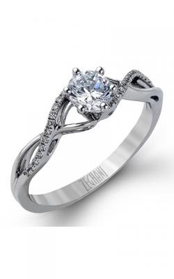 Zeghani Refined Rebel Engagement ring ZR981 product image