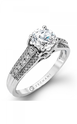 Zeghani Vintage Vixen Engagement ring ZR977 product image