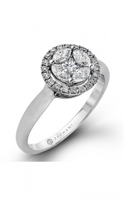 Zeghani Vintage Vixen Engagement Ring ZR964 product image