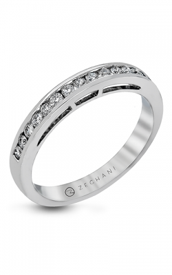 Zeghani Delicate Diva Wedding band ZR960 product image