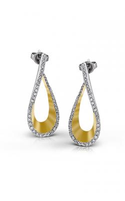 Zeghani Refined Rebel Earrings ZE156 product image