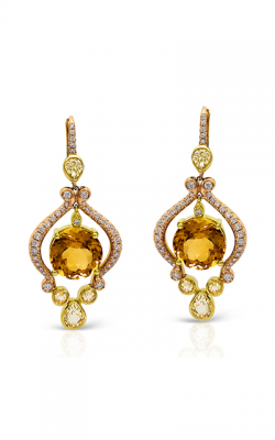 Zeghani Refined Rebel Earrings ZE173 product image