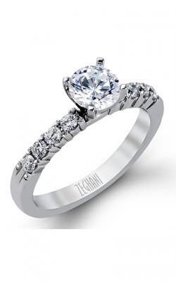 Zeghani Delicate Diva Engagement Ring ZR96 product image