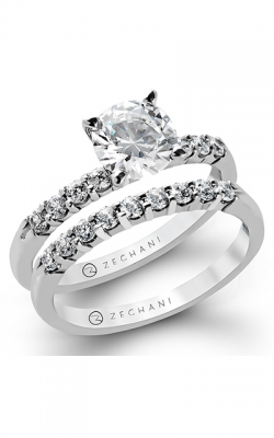 Zeghani Blindingly Beautiful Engagement ring ZR95 product image