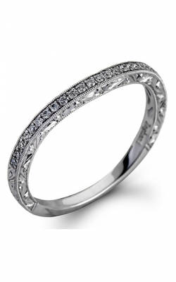 Zeghani Vintage Vixen Wedding band ZR941 product image