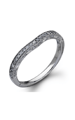 Zeghani Vintage Vixen Wedding Band ZR939 product image