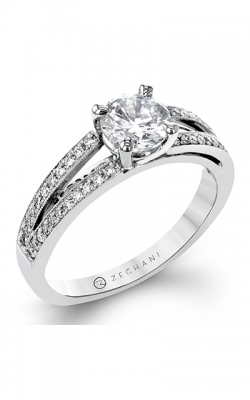 Zeghani Delicate Diva Engagement Ring ZR929 product image