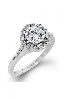 Zeghani Nature Lover Engagement Ring ZR908 product image