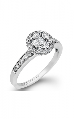 Zeghani Delicate Diva Engagement Ring ZR899 product image