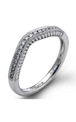 Zeghani Vintage Vixen Wedding Band ZR896 product image
