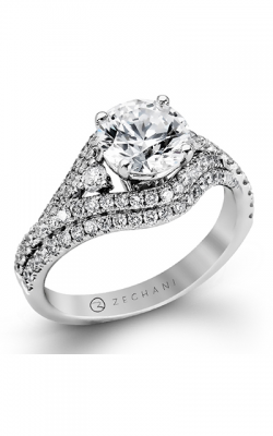 Zeghani Blindingly Beautiful Engagement Ring ZR884 product image