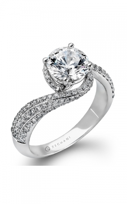 Zeghani Refined Rebel Engagement ring ZR883 product image