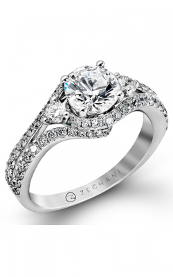 Zeghani Blindingly Beautiful Engagement Ring ZR873 product image