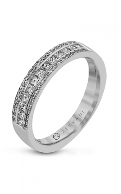 Zeghani Blindingly Beautiful Wedding Band ZR859 product image