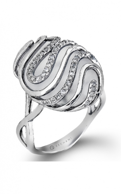 Zeghani Refined Rebel Fashion Ring ZR847 product image