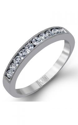 Zeghani Delicate Diva Wedding Band ZR836 product image