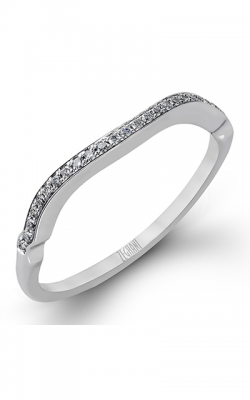 Zeghani Delicate Diva Wedding band ZR825 product image