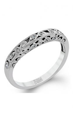 Zeghani Vintage Vixen Wedding Band ZR824 product image