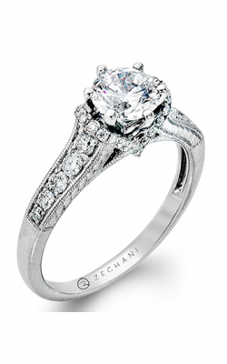 Zeghani Vintage Vixen Engagement ring ZR811 product image