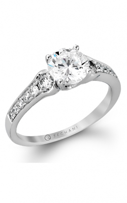Zeghani Delicate Diva Engagement Ring ZR807 product image
