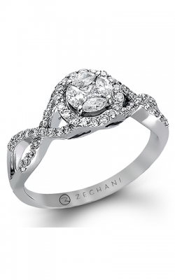Zeghani Delicate Diva Engagement ring ZR802 product image