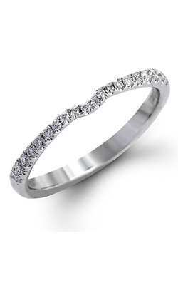 Zeghani Delicate Diva Wedding Band ZR752 product image